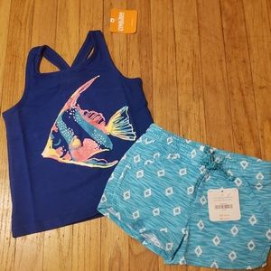 Other - Gymboree summer tank top & shorts New 2T